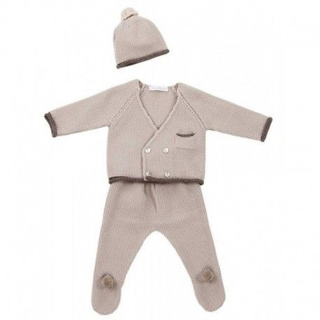 MARTÍN ARANDA baby brown set