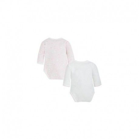 Set of two bodysuits with long sleeves MAYORAL