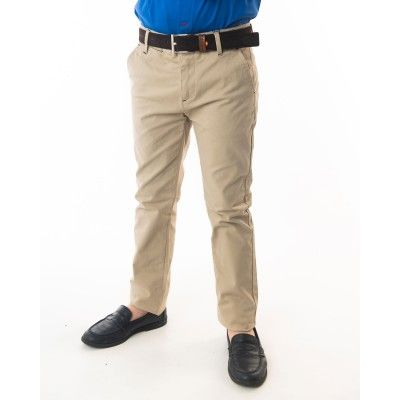 PANTALON CHINO BASICO PIPING GAB. ELAST 4778