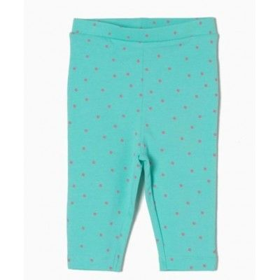 Leggings estampado de lunares azul cielo ZIPPY
