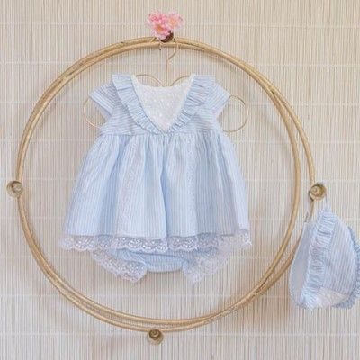 Baby dress with panties and without hood DOLCE PETIT