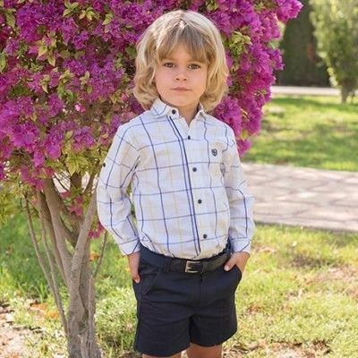 Children's 2222/23 Dolce Petit shirt and shorts set