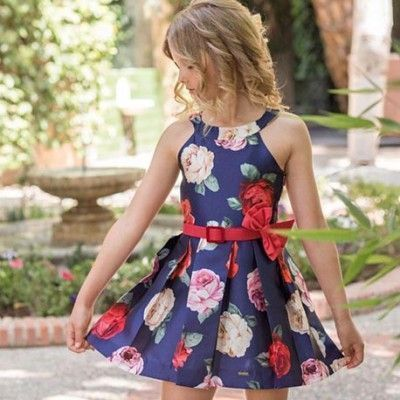 Dolce Petit floral print dress Dolce Aela collection 3006 / V