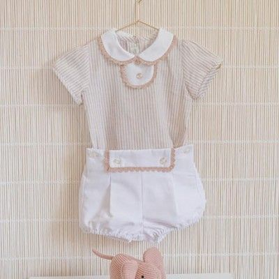 Dolce Petit baby boy t-shirt and pants set