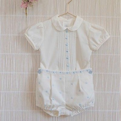 Baby boy beige-light blue 2013 Dolce Petit set