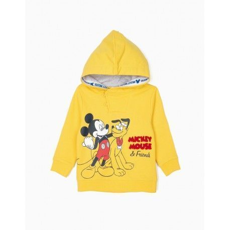 Baby boys Mickey and Pluto hoodie