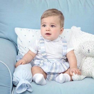 Striped baby boy set Miranda Textil 27/0062/23