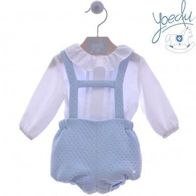 Light blue baby yones yoedu family set