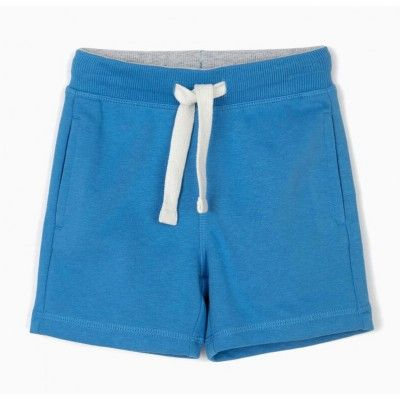 Blue sports shorts for baby boy