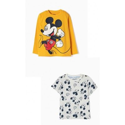 2-pack Mickey t-shirts for baby boy