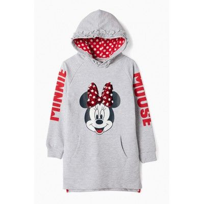 Minnie girl hooded dress