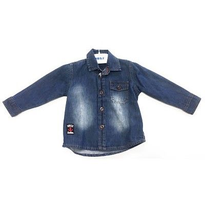 UBS2 baby boy denim shirt