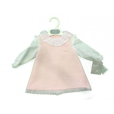 Canesu Yoedu Family pink baby dress