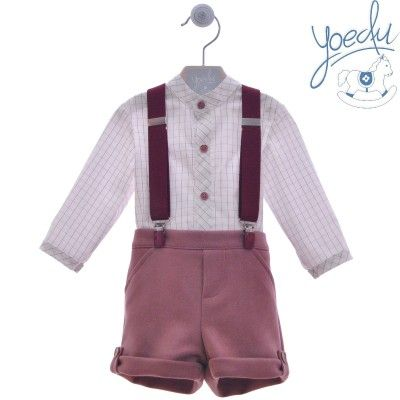 Set baby boy family deal with Yoedu suspenders