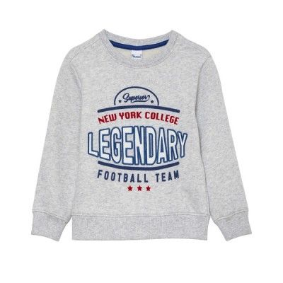 Boys gray tracksuit with Legendary sweatshirt and pants