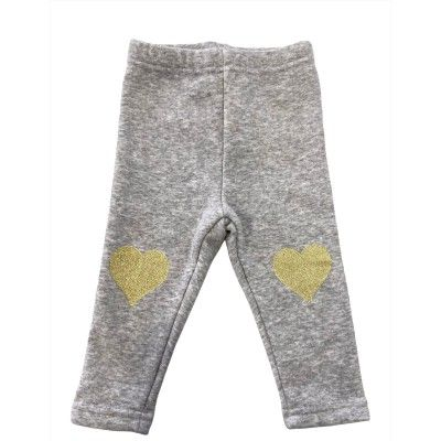 Leggings bebé color gris zippy