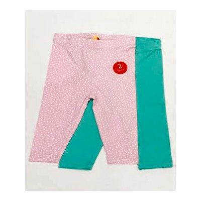 Baby girl zippy leggings