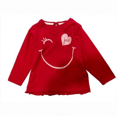 Zippy red baby t-shirt