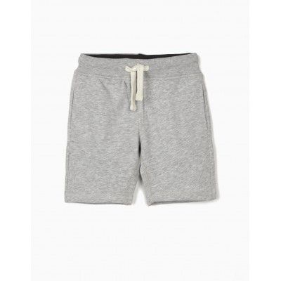 Short deportivo para niño en color gris Zippy