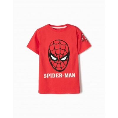 Camiseta para niño Spider-man en color rojo zippy